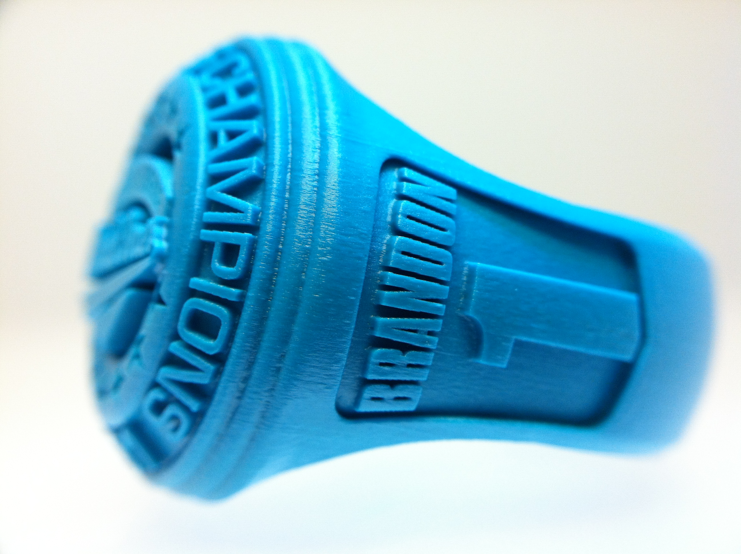 3D Rapid Prototyping Ring