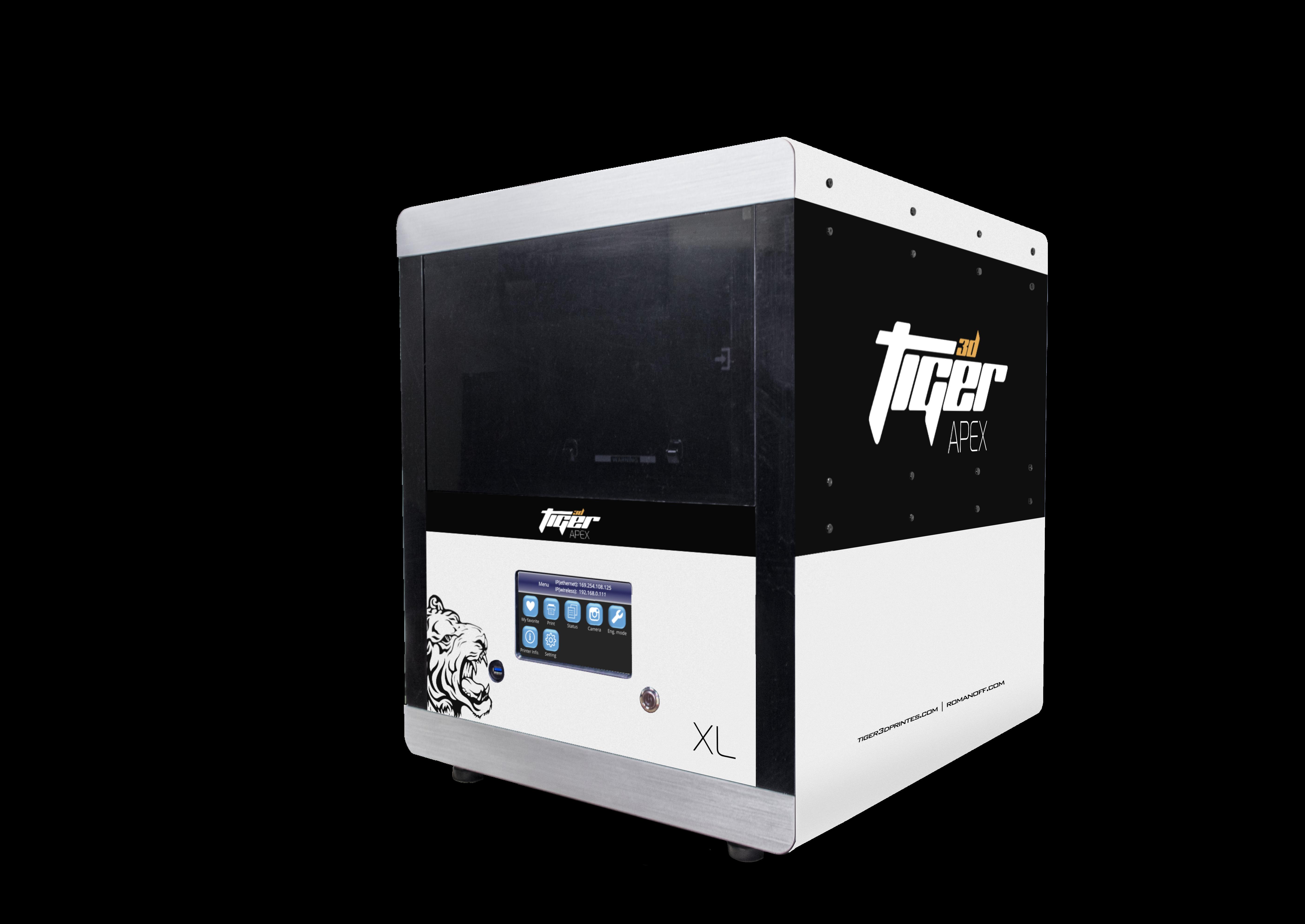 Tiger3D APEX 2K - XHD