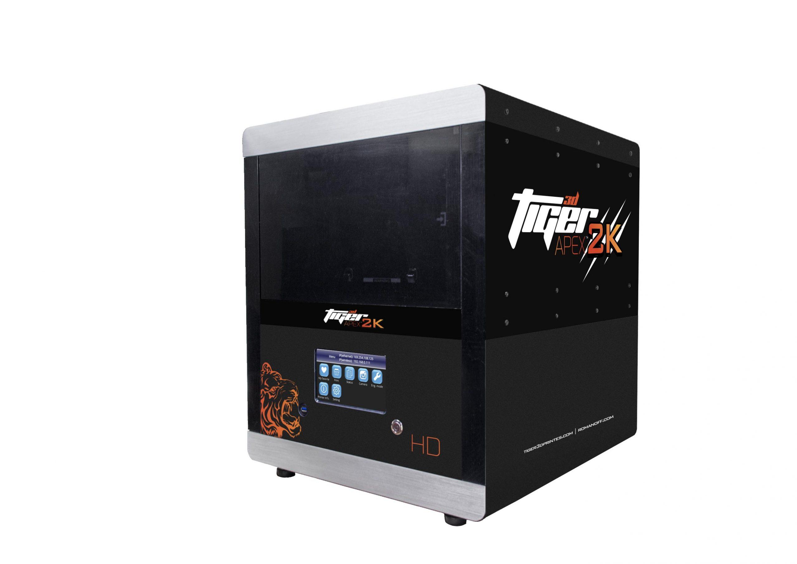 Tiger3D Apex Render Side